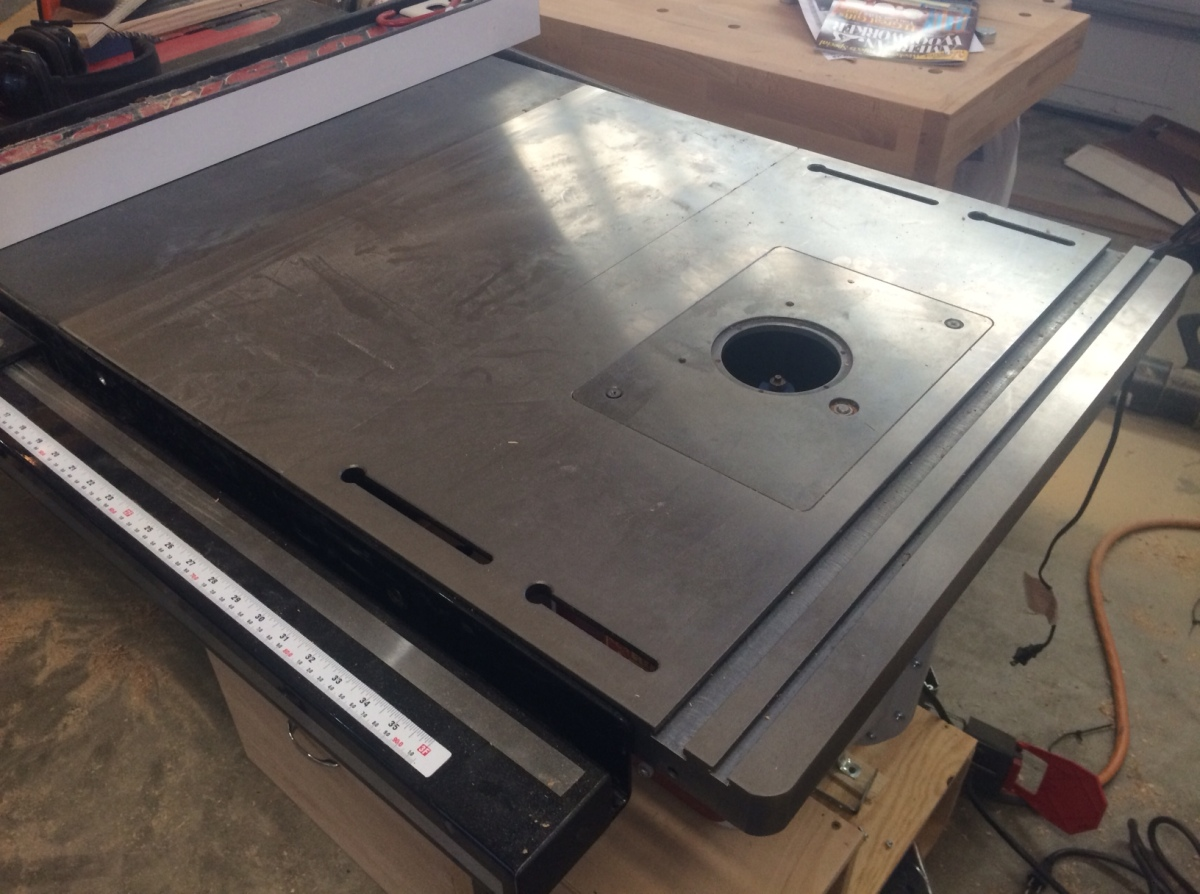 Sawstop Revisited Router Table Modern Classics